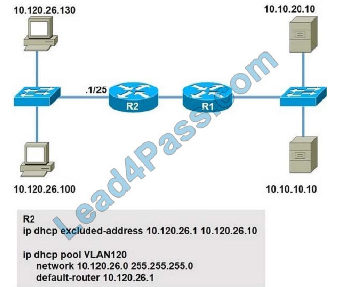 lead4pass cisco 200-301 exam practice questions q3